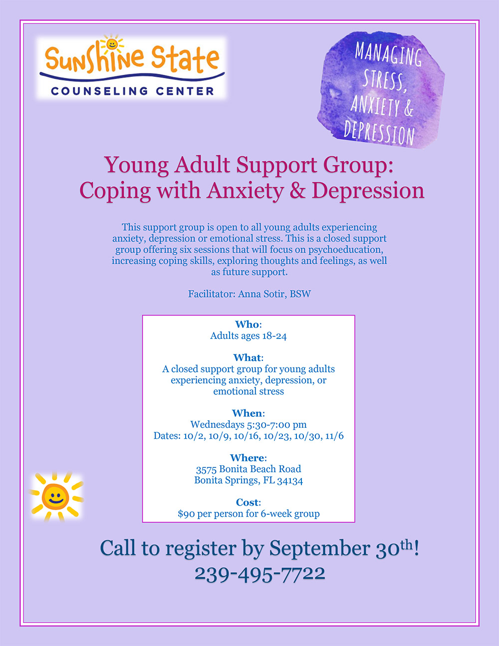 Young Adult Flyer